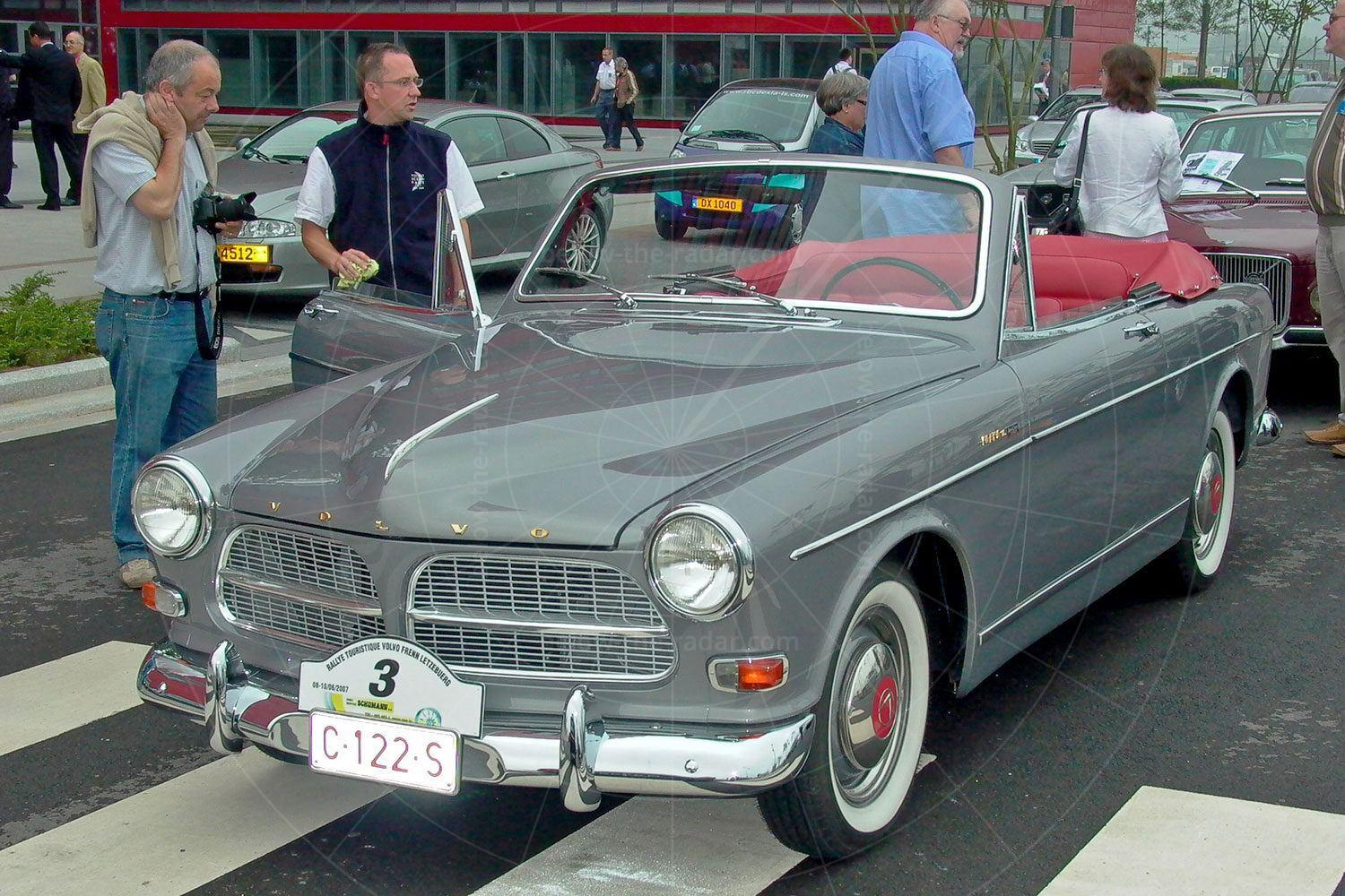 Volvo Amazon cabriolet by Jacques Coune Pic: Volvo | Volvo Amazon cabriolet by Jacques Coune