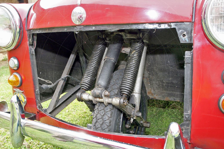 AC Petite front suspension Pic: magiccarpics.co.uk | AC Petite front suspension