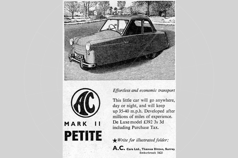 AC Petite advert Pic: magiccarpics.co.uk | AC Petite advert