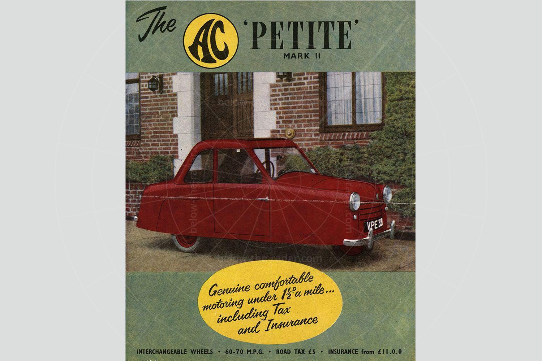 AC Petite sales brochure Pic: magiccarpics.co.uk | AC Petite sales brochure