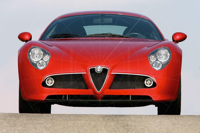 Alfa Romeo 8C Competizione concept Pic: Alfa Romeo   Alfa Romeo 8C Competizione concept