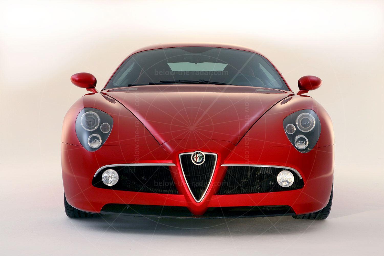 Alfa Romeo 8C Competizione production car Pic: Alfa Romeo   Alfa Romeo 8C Competizione production car