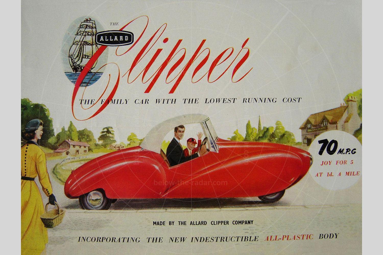 Allard Clipper sales brochure Pic: magiccarpics.co.uk | Allard Clipper sales brochure