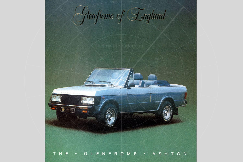 Glenfrome Ashton, based on the Range Rover Classic Pic: magiccarpics.co.uk | Glenfrome Ashton, based on the Range Rover Classic