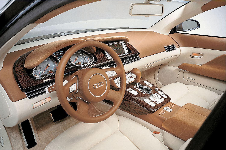 Audi Avantissimo dashboard Pic: Audi | Audi Avantissimo dashboard