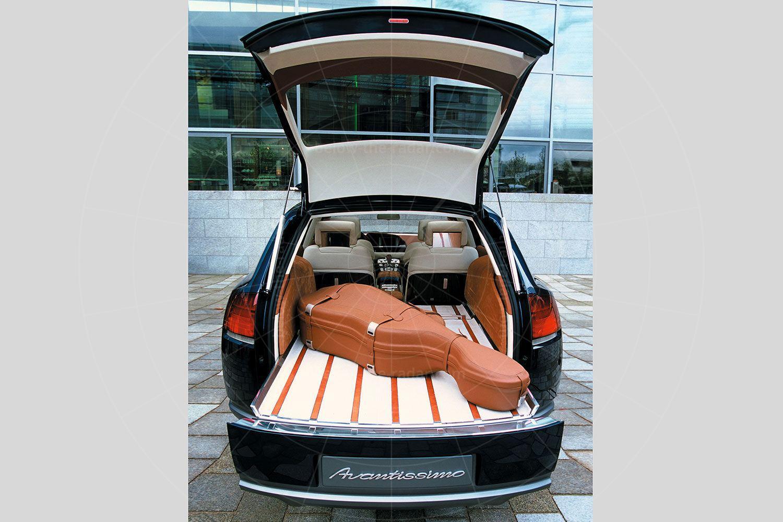 Audi Avantissimo load bay Pic: Audi | Audi Avantissimo load bay