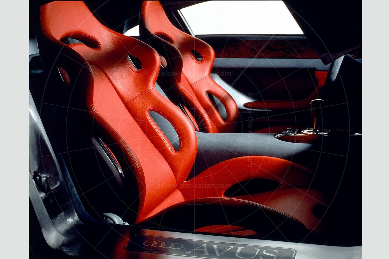 Audi Avus interior Pic: Audi   Audi Avus interior