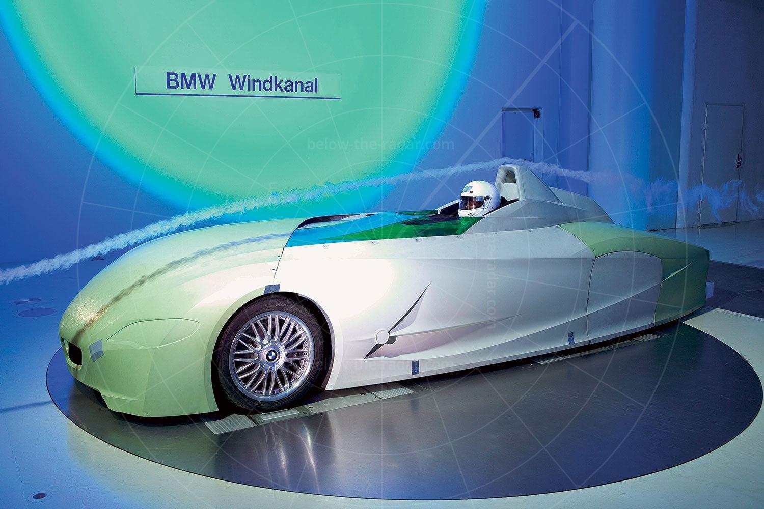BMW H2R in the wind tunnel Pic: BMW | BMW H2R in the wind tunnel