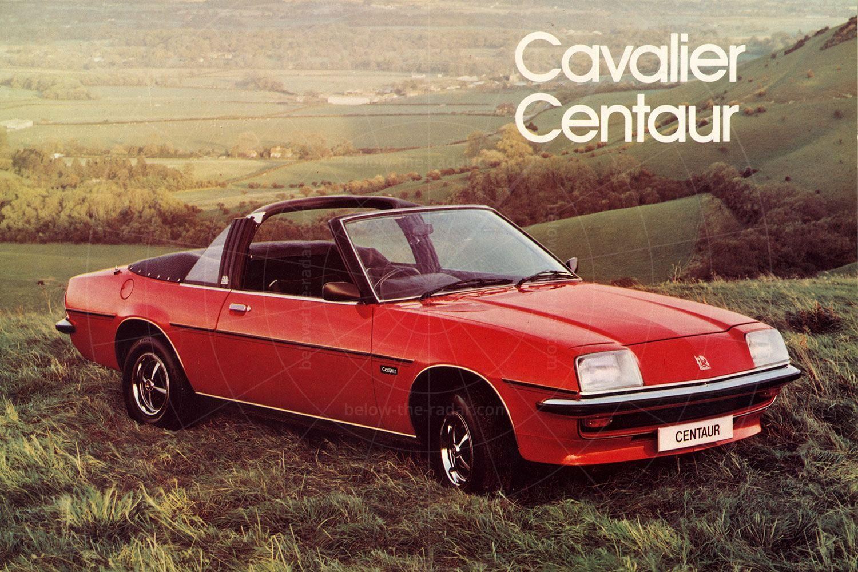 Vauxhall Cavalier Centaur sales brochure