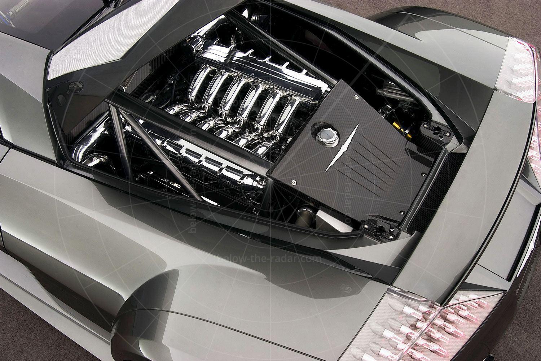 Chrysler ME Four-Twelve engine bay Pic: Chrysler | Chrysler ME Four-Twelve engine bay