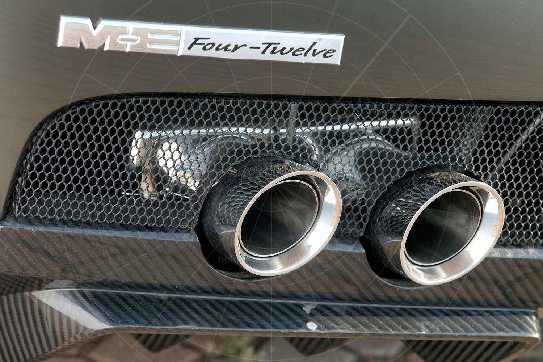 Chrysler ME Four-Twelve exhausts Pic: Chrysler | Chrysler ME Four-Twelve exhausts