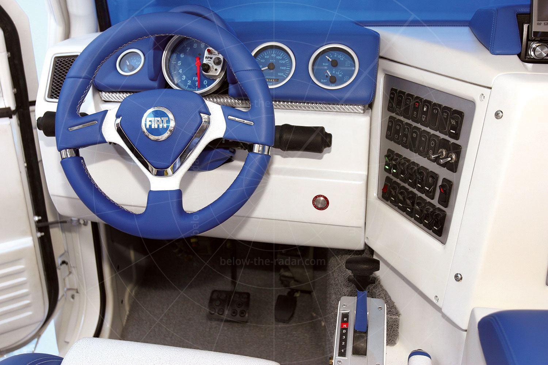 Fiat Oltre dashboard Pic: Fiat   Fiat Oltre dashboard