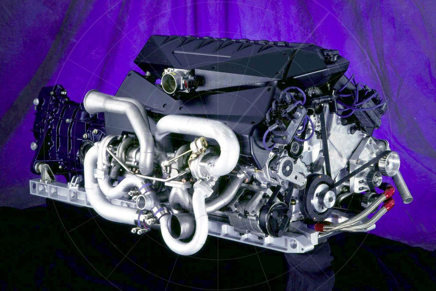 Ford GT90 engine Pic: Ford   Ford GT90 engine
