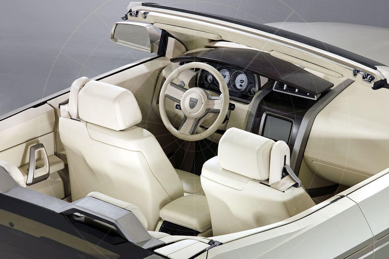 Karman Sport Utility Cabriolet interior Pic: magiccarpics.co.uk | Karman Sport Utility Cabriolet interior