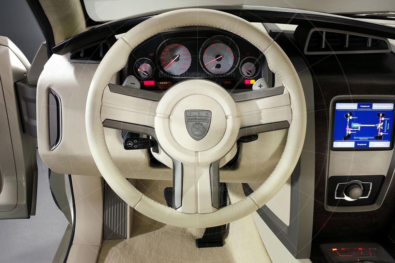 Karman Sport Utility Cabriolet dashboard Pic: magiccarpics.co.uk | Karman Sport Utility Cabriolet dashboard