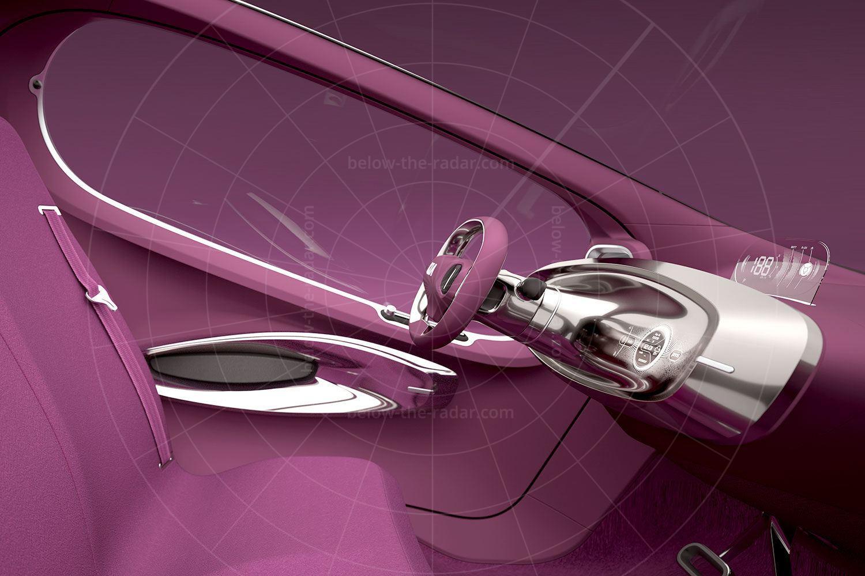 Kia Pop interior Pic: Kia | Kia Pop interior