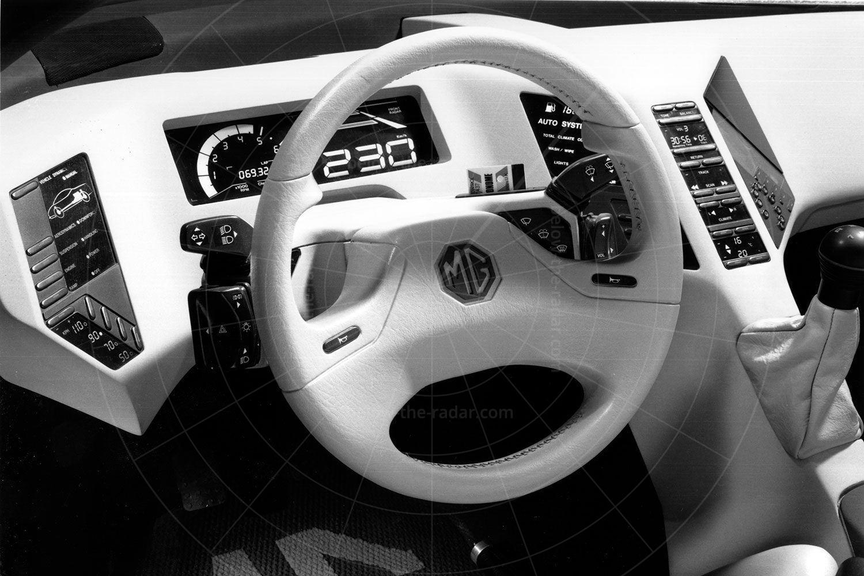MG EX-E dashboard Pic: magiccarpics.co.uk | MG EX-E dashboard