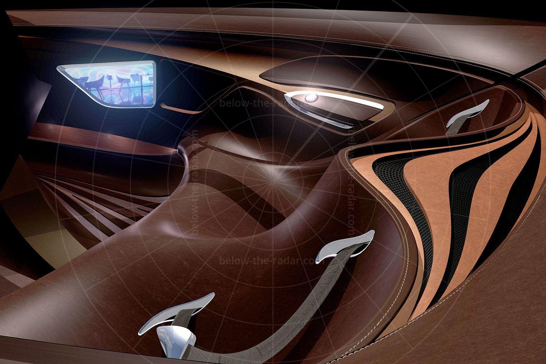Mazda Nagare Pic: Mazda | Mazda Nagare interior