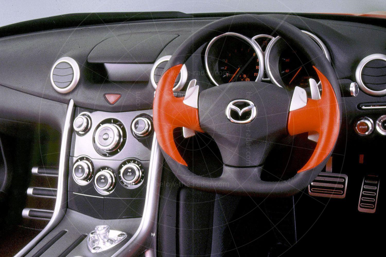 Mazda RX-Evolv Pic: Mazda | Mazda RX-Evolv interior