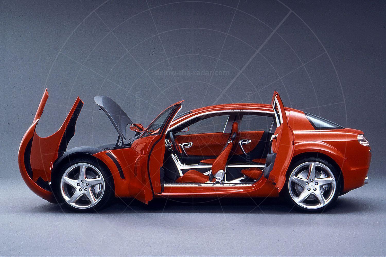 Mazda RX-Evolv Pic: Mazda |