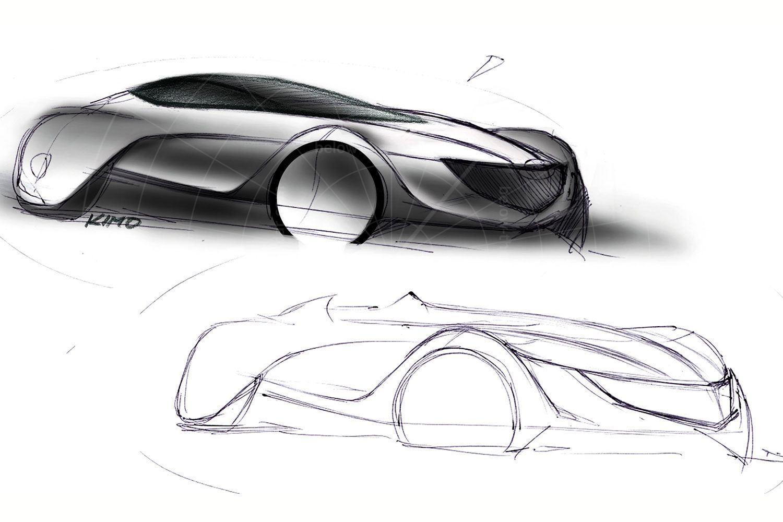 Mazda Taiki design sketch Pic: Mazda | Mazda Taiki design sketch