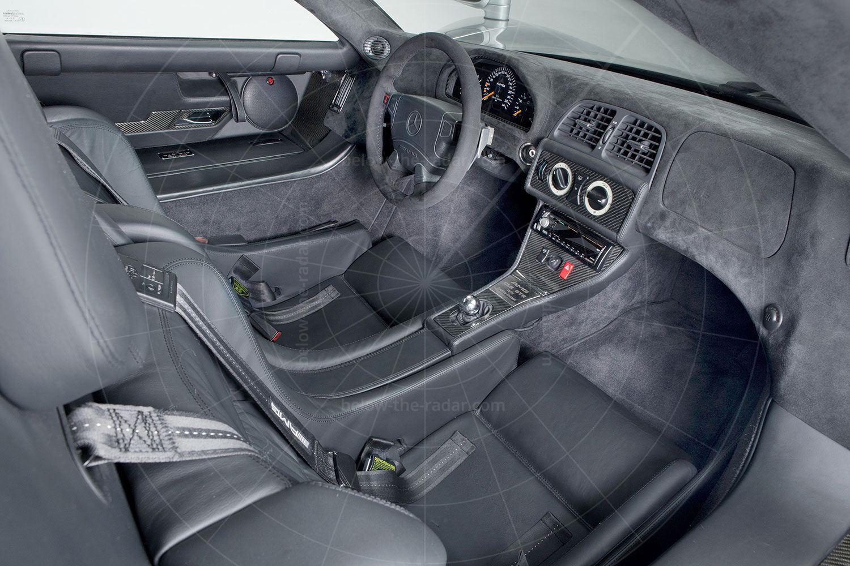 Mercedes CLK GTR coupé interior Pic: Mercedes-Benz | Mercedes CLK GTR coupé interior