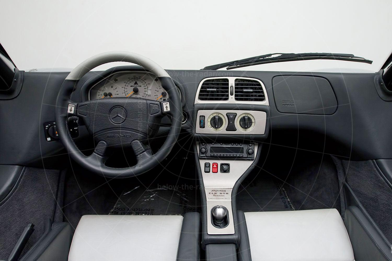 Mercedes CLK GTR roadster interior Pic: Mercedes-Benz | Mercedes CLK GTR roadster interior
