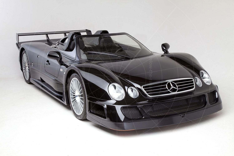 Mercedes CLK GTR roadster Pic: Mercedes-Benz | Mercedes CLK GTR roadster
