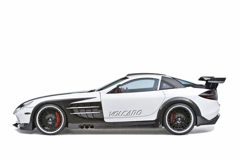The Mercedes SLR Volcano by Hamann Pic: Hamann   The Mercedes SLR Volcano by Hamann