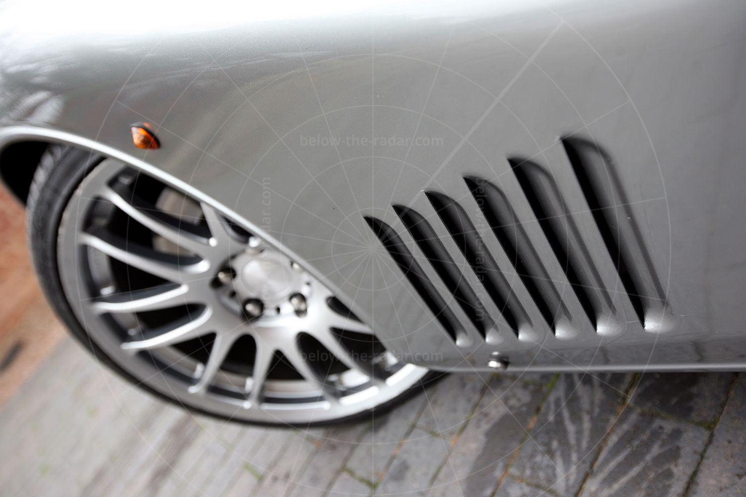 Morgan Aeromax front wing louvres Pic: magiccarpics.co.uk   Morgan Aeromax front wing louvres