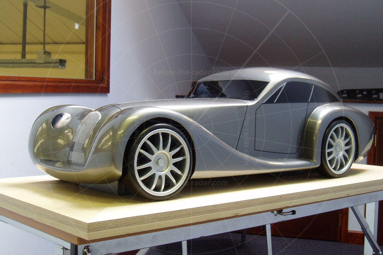 Morgan Aeromax scale model Pic: Morgan   Morgan Aeromax scale model