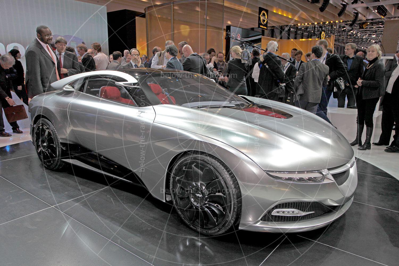 Saab PhoeniX at the 2011 Geneva motor show