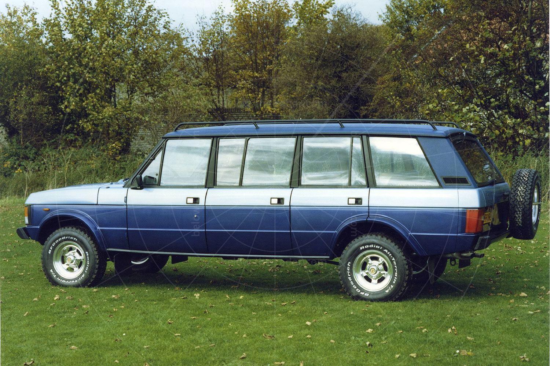 Glenfrome Portway, based on the Range Rover Classic Pic: magiccarpics.co.uk | Glenfrome Portway, based on the Range Rover Classic