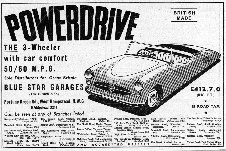 Powerdrive advert