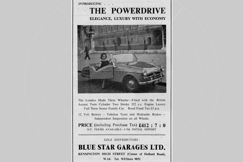 Powerdrive advert Pic: magiccarpics.co.uk | Powerdrive advert