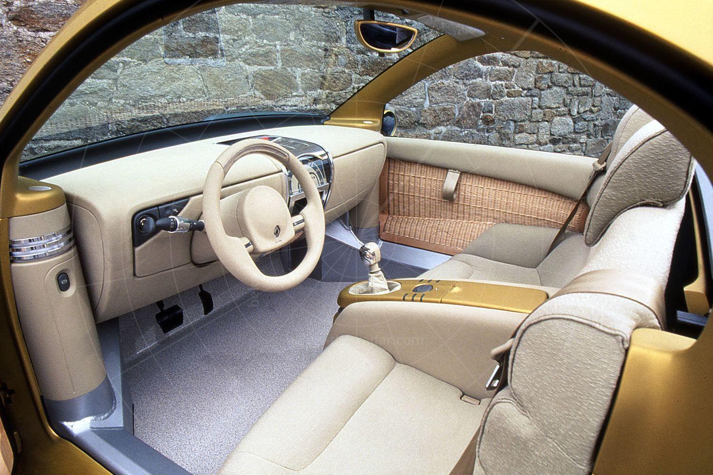 Renault Fiftie interior Pic: Renault   Renault Fiftie interior