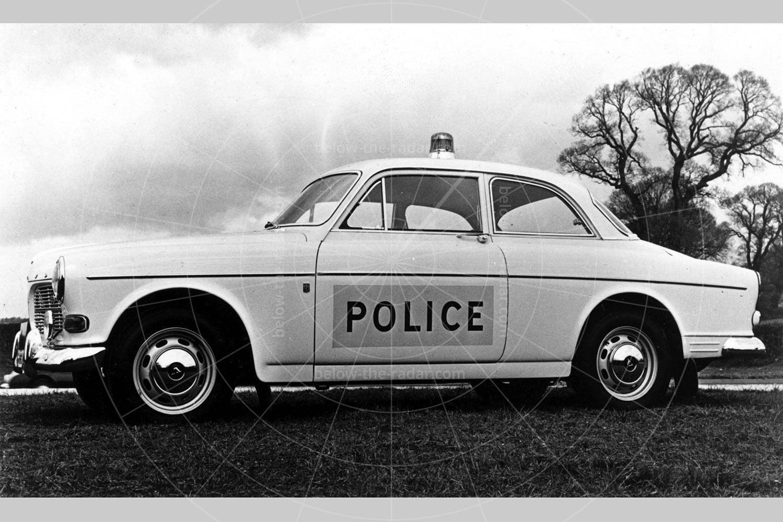 Ruddspeed Volvo Amazon police car