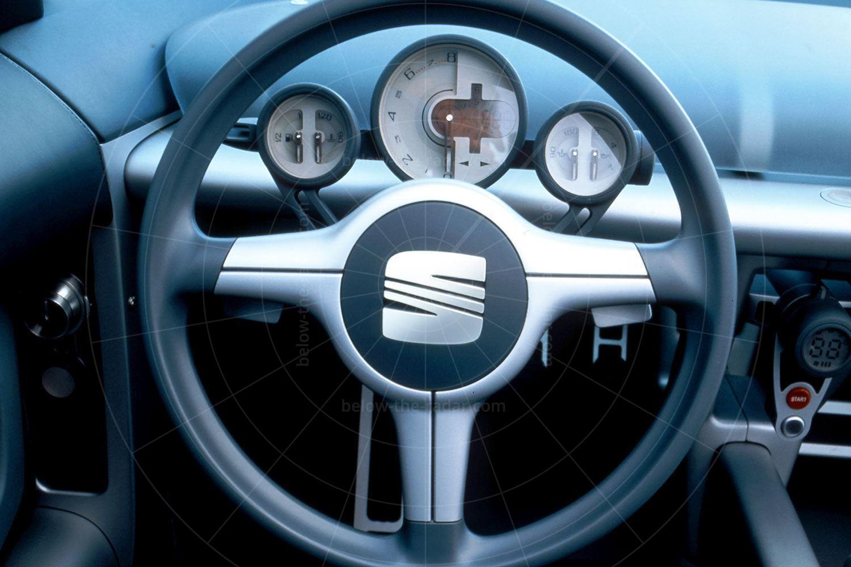SEAT Formula dashboard Pic: SEAT | SEAT Formula dashboard