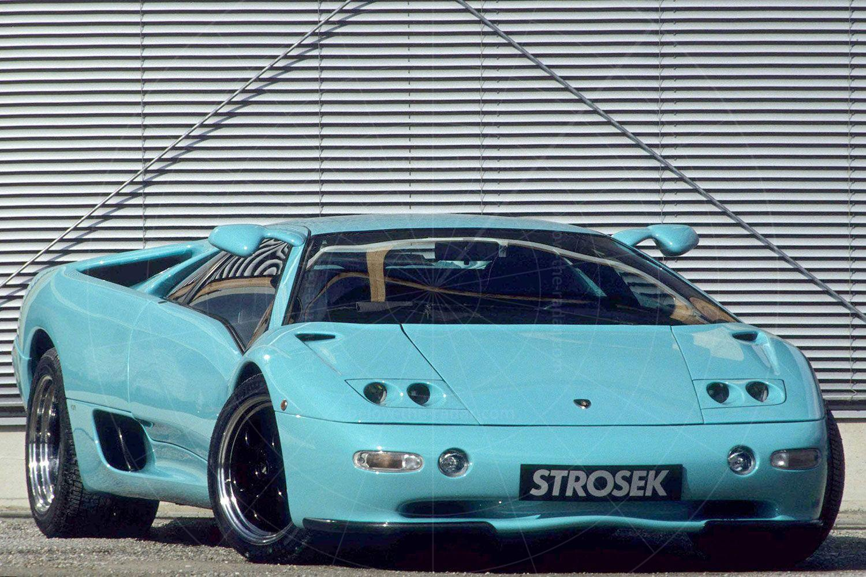 Lamborghini Diablo by Strosek Pic: magiccarpics.co.uk | Lamborghini Diablo by Strosek
