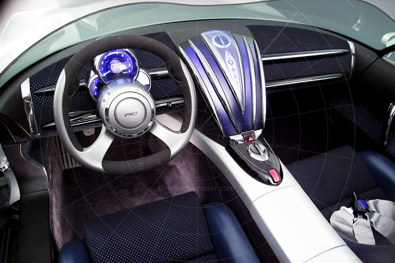 Toyota FXS Pic: Toyota | Toyota FXS interior