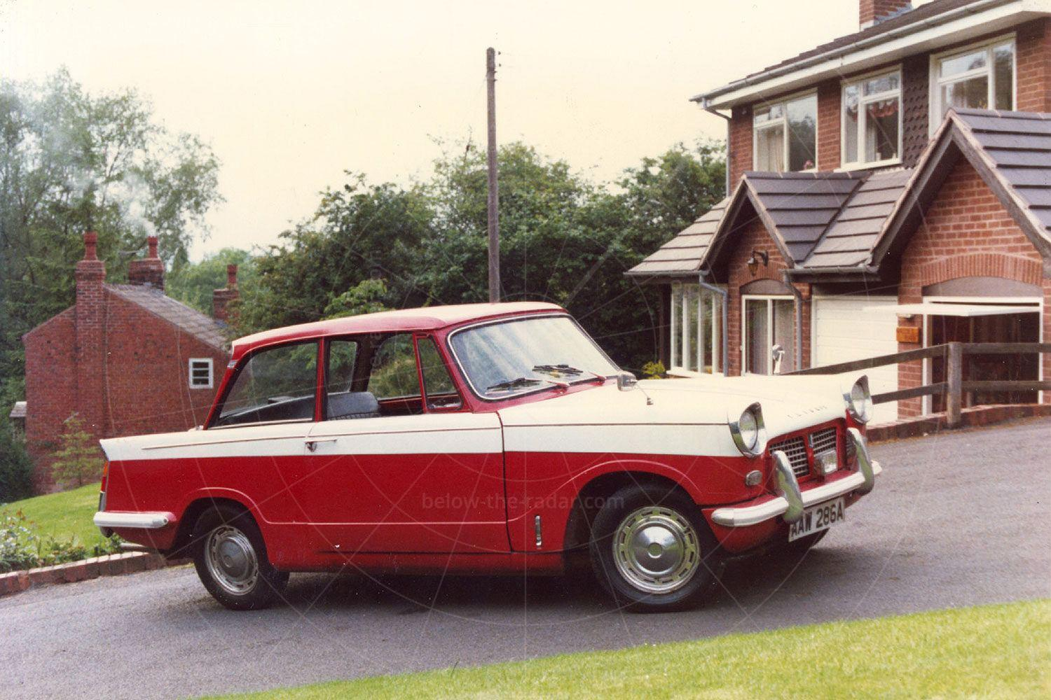Where it all started - with a 1962 Triumph Herald 1200 saloon Pic: magiccarpics.co.uk | Where it all started - with a 1962 Triumph Herald 1200 saloon