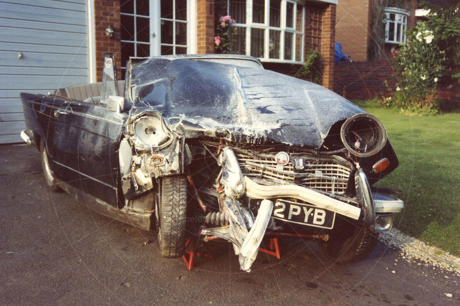 In June 1992 the Herald was destroyed in a crash Pic: magiccarpics.co.uk | In June 1992 the Herald was destroyed in a crash