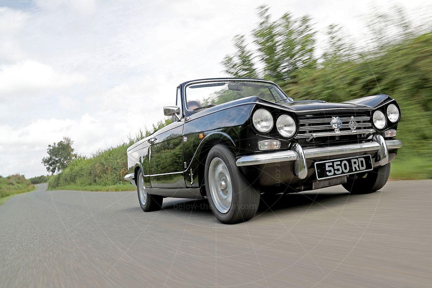 The editor's 1969 Triumph Vitesse 2.5 convertible Pic: magiccarpics.co.uk | The editor's 1969 Triumph Vitesse 2.5 convertible