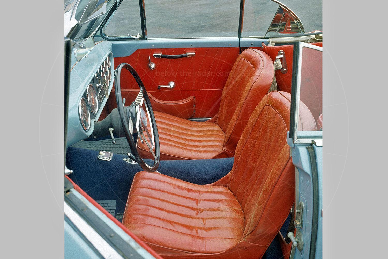 Volvo P1900 interior Pic: Volvo   Volvo P1900 interior