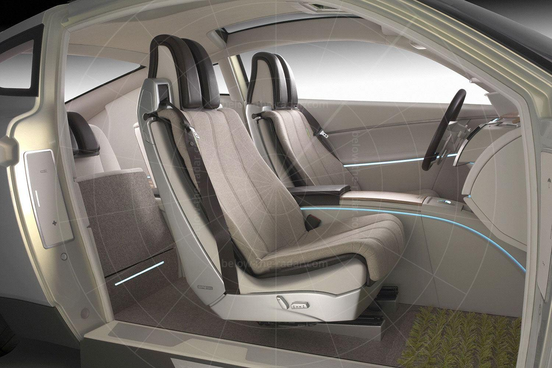 Volvo YCC interior Pic: Volvo | Volvo YCC interior