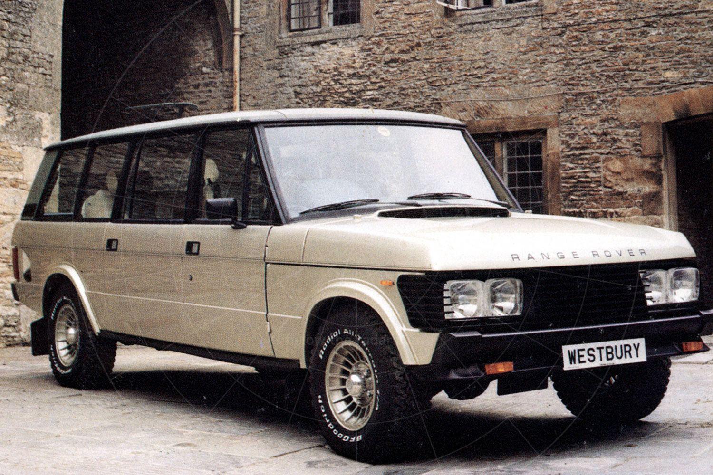 Glenfrome Westbury, based on the Range Rover Classic Pic: magiccarpics.co.uk | Glenfrome Westbury, based on the Range Rover Classic