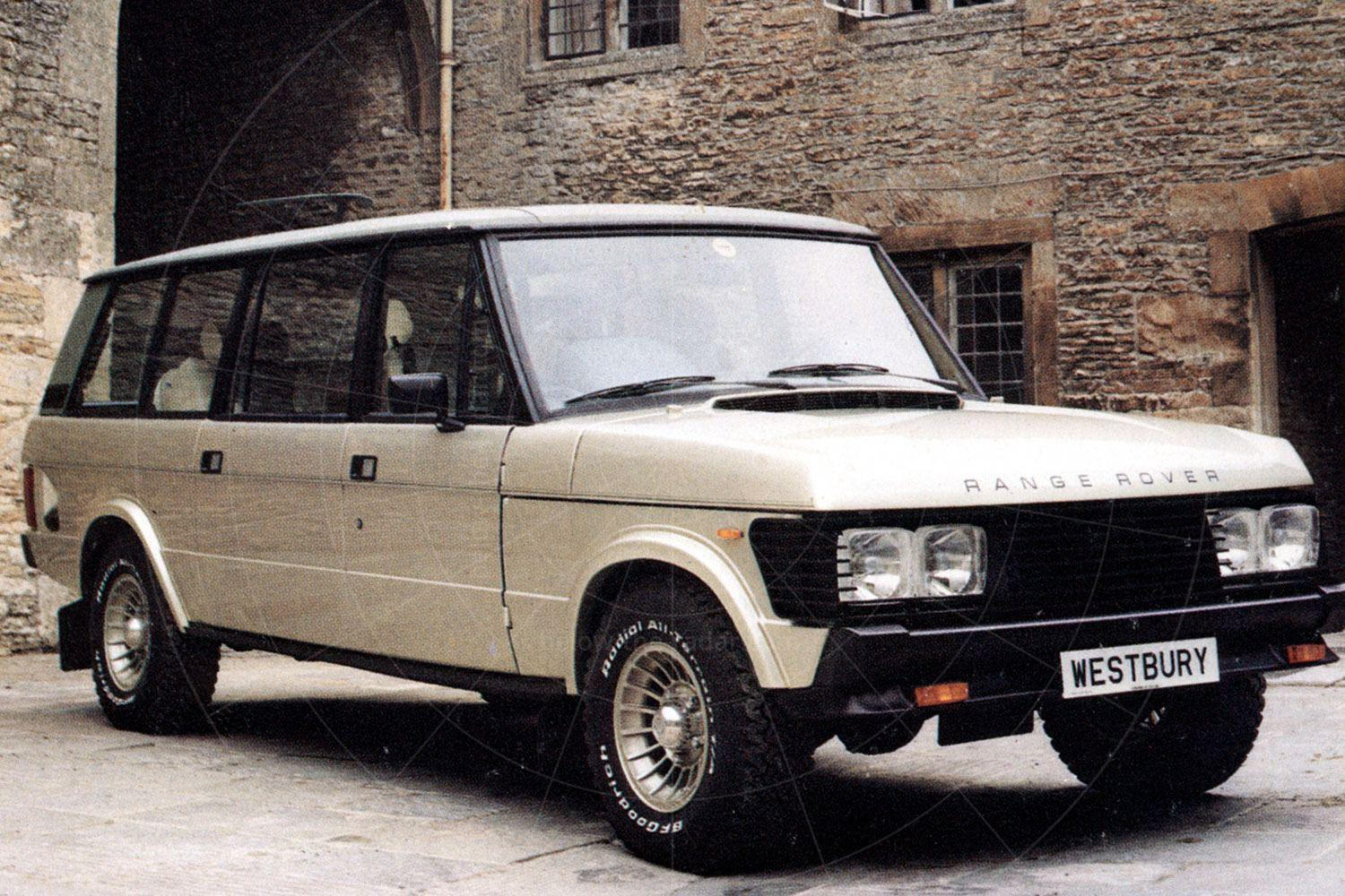 Glenfrome Westbury, based on the Range Rover Classic