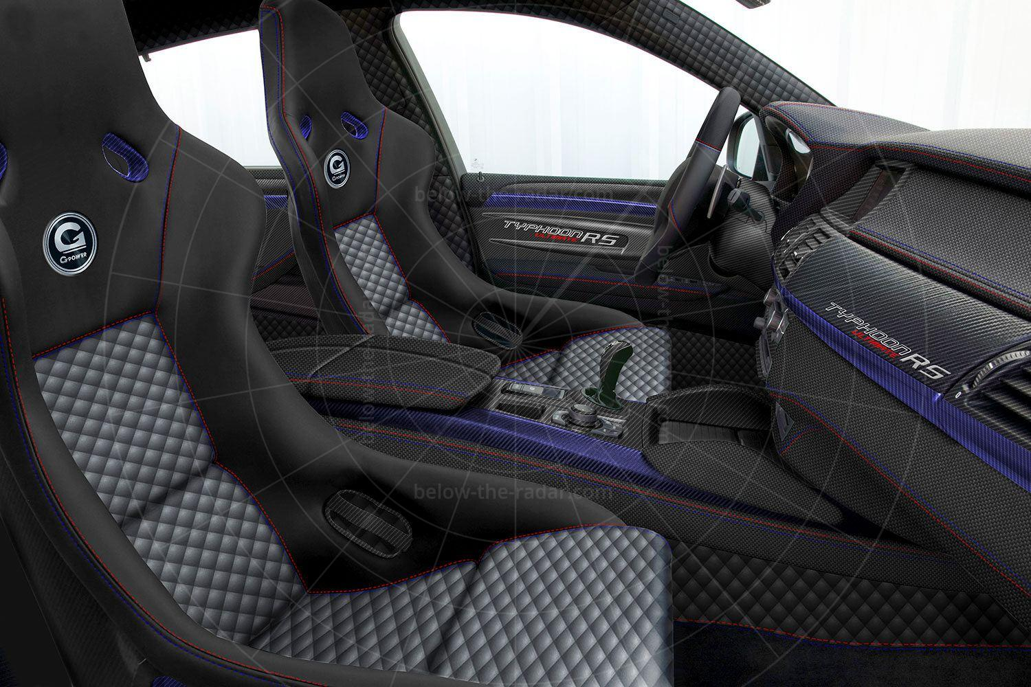 G-Power X6 M Typhoon RS V10 interior Pic: G-Power | G-Power X6 M Typhoon RS V10 interior