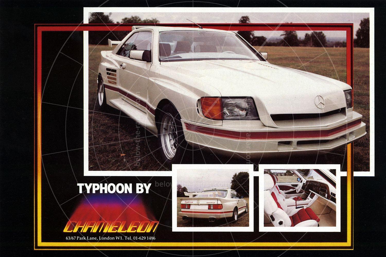 Mercedes Chameleon Typhoon brochure