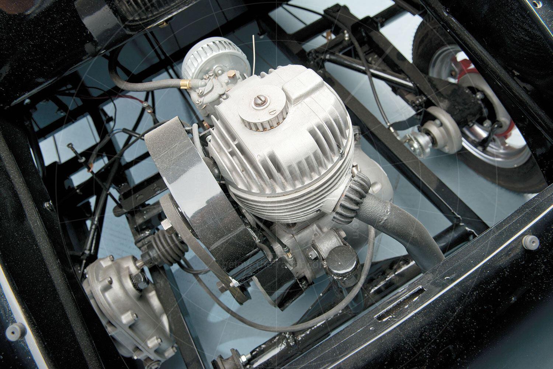 Atlas Babycar engine bay Pic: RM Sotheby's | Atlas Babycar engine bay